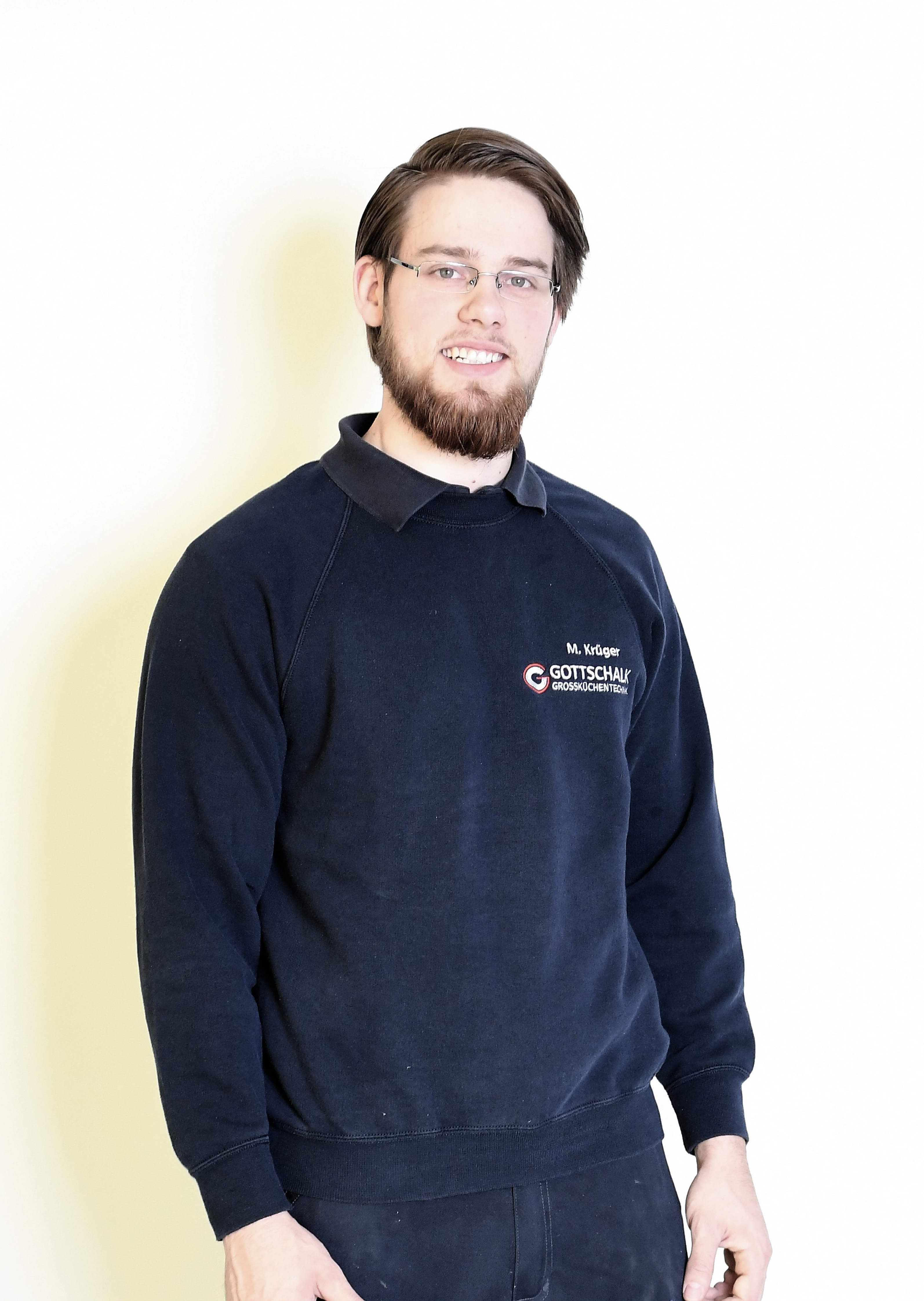 Malte Krüger ist seit 2018 Tischler und Servicetechniker im Team Gottschalk